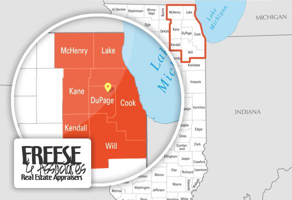 Freese & Associates Coverage Area